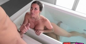 Step son walks in on Wonderful Kendra Lust in the bath, edarenean