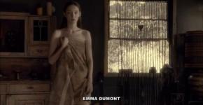 Inimitable Emma Dumont sexy Aquarius s01e01 02 2015, tattutad