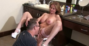 Sexy blonde with big tits Rio Blaze love getting her tight pussy, turongus