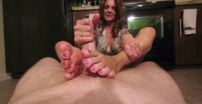 POV Mature Woman Deauxma Foot Massage and Footjob, Haletrare