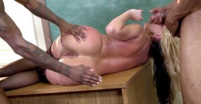 Alena Croft Teacher Likes Black Men are waiting their turn for fucking, petabryy