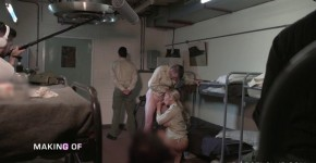 Brandi Love Cassie Del Isla Sexy Girls Making of from the movie military misconduct DorcelClub, bussyman