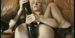 Giselle 55y with monster dildo, boryiglan