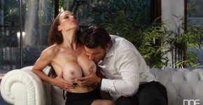 DDFnetwork McKenzie Lee He Cant Resist Busty Milf Loves Cum On Her Big Tits, Pose691