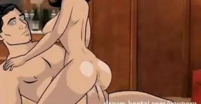 Archer Hentai Room Service lana animation and parody porn, ddredd