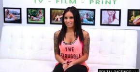 Tattooed Brunette Natalia Mendez fuck hard at casting BrutalCasting, Rodanilyle
