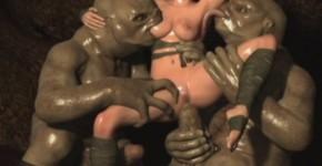 3D Monsters Gangbanging Poor Teens!, evilmike