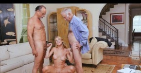Blonde Raylin Ann Handles Three Wrinkly Dicks At One Time, marleyvom