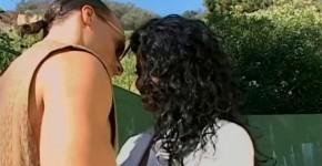 Curly Ebony Serena Lewis in amazing college interracial porn, Gakinose