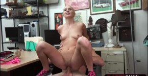 Amateur white Petite chick Sadie Leigh bangs Shawn in doggystyle position, Whanaurl