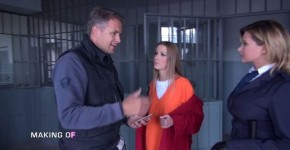 DorcelClub Alexis Crystal Making Of Hot nights in Prison With two dicks, Fastmasturbations