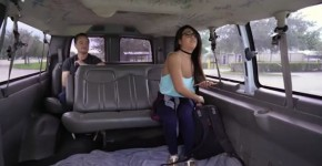 Pretty College Student Gets Stretched On The Bus Lexy Bandera, Faloregas