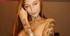 Petite Big Titty Webcam Girl Rides Dildo, mynxcams