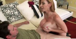 NaughtyAmerica American Cougar Woman Sara Jay in Hot Underwear Set Gets Drilled Hard, NiNgela