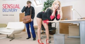 Babes - Sensual Delivery Delivered Big Dick For Candee Licious, BabesNetwork