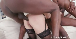 hd hard anal fucking and double penetration anal creampie gangbang lexy star black dick in white pussy legal porno, griitter