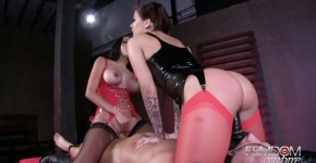 stunt cock big beautiful tits nude karmen karma and kimberly kendall riding face tied up men femdom empire hd, DVtommy