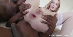 Hard Anal Black Busters 5on1 Belle Claire interracial DP, Ullaylla