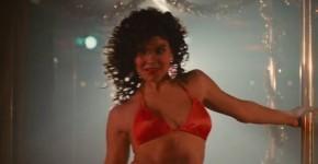 Paula Trickey nude golden bikini set Maniac Cop 2 1990, edidasta