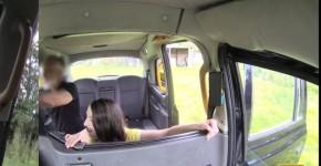 Liz Rainbow Stunning Girl Olive skin brunette fucked on car FakeTaxi, lockcloseuppussy