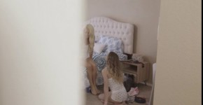 stepsiblingscaught Nice Girls alana summers and elsa jean step brother crashes sisters pajama party, ushare
