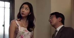 hitomi tachibana gentle Japanese fucks with a guy in bed, Nynekames