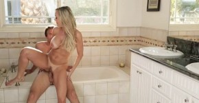 Brandi Love Sexy Milf With Young Stud, CaxiMoon