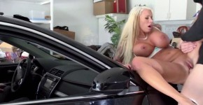 Lolly Ink Jacking The Jacker Depraved blonde wants to be fucked, flashspelash
