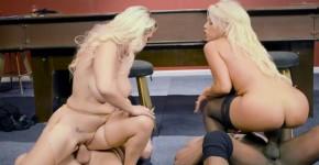 Busty Blonde Milf Bridgette B and Charles Dera in 4Some Sex, lockcloseuppussy