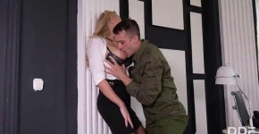 DDFNetwork HouseOfTaboo Fiery Kayla Green Military Grade Anal Penetration, Eluniee