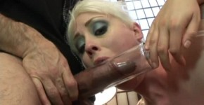 Ashley Blue busts out all her favorite toys for tattooed beauty Lorelei Lee., Teeenag45