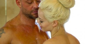 NuruMassage Elsa Jean Ex Babysitter fuck natural tits, Linneli5
