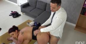 DDFBusty Harmony Reigns Big Boobs Busty Boss Fucked Hard, sexybodymygirl