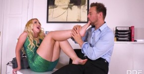 HotLegsAndFeet Samantha Rone Awesome Blonde Foot Fuck Fantastico DDFNetwork, bollybooty