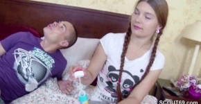 He seduce petite step-sister to Fuck and lost virgin, LuderClub