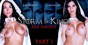 Anissa Kate And Jasmine Jae Always Ready To Service His Majesty In Storm Of Kings XXX Parody: Part 1, Brazzers