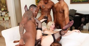 Devils Film - Group Sex Jenna Ivory With Her Big Black Friends In Blacked Out 4 , DevilsFilm