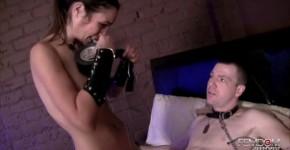 Amber rayne Fucks her slave taped his mouth, zamsonsasha