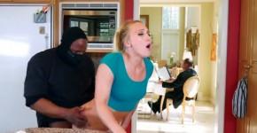 Blonde girl AJ Applegate prefers rough sex with dirty thief, recordpercent