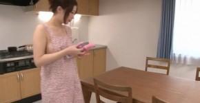 Riko Oshima amateur babe finger fucks in strong solo, JavHDporn