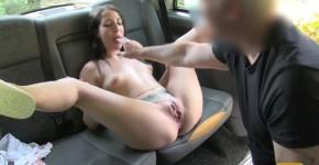 Liz Rainbow Spanish Teen with Nice Arse sucks big cock FakeTaxi, sasalotwo
