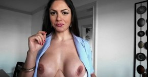Marta LaCroft Stunning Brunette Big Tit Latina Blows Client, coldmypussy