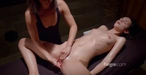 Hegre Art Ariel Nude Body Sensual Stimulation Massage, QurlonDuron