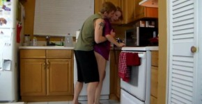 Delightful Mom Lets Son Lift Her and Grind Her Hot HornyFamily, Elpapa