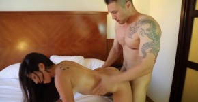 Sofia Rivera and Jeremy Long Sexy couple fucks in bed in different poses, junglejuicyballs