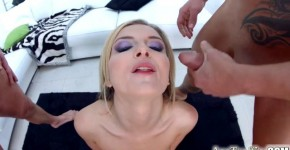 busty jemma valentine with natural tits gets ass fucked by two master porn, amudaddy