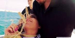 Son Fuck Aisha Spanish Beauty Aisha Experiences First Time Bdsm Fuck In Boat Group Scene, ebonydaisy