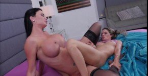 Huge tits Jasmine Jae licking and fingering Prinzzess wet pussy, SexyKimmy9