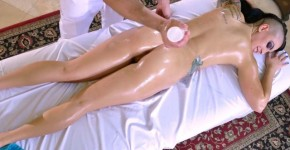 Depraved Emo Girl Rachael Madori Gets Oiled up and Fucked, bollybooty