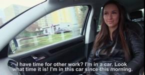 Brunette Gets In A Big Car Video Victoria Sweet Stranded Teens, uniformlike